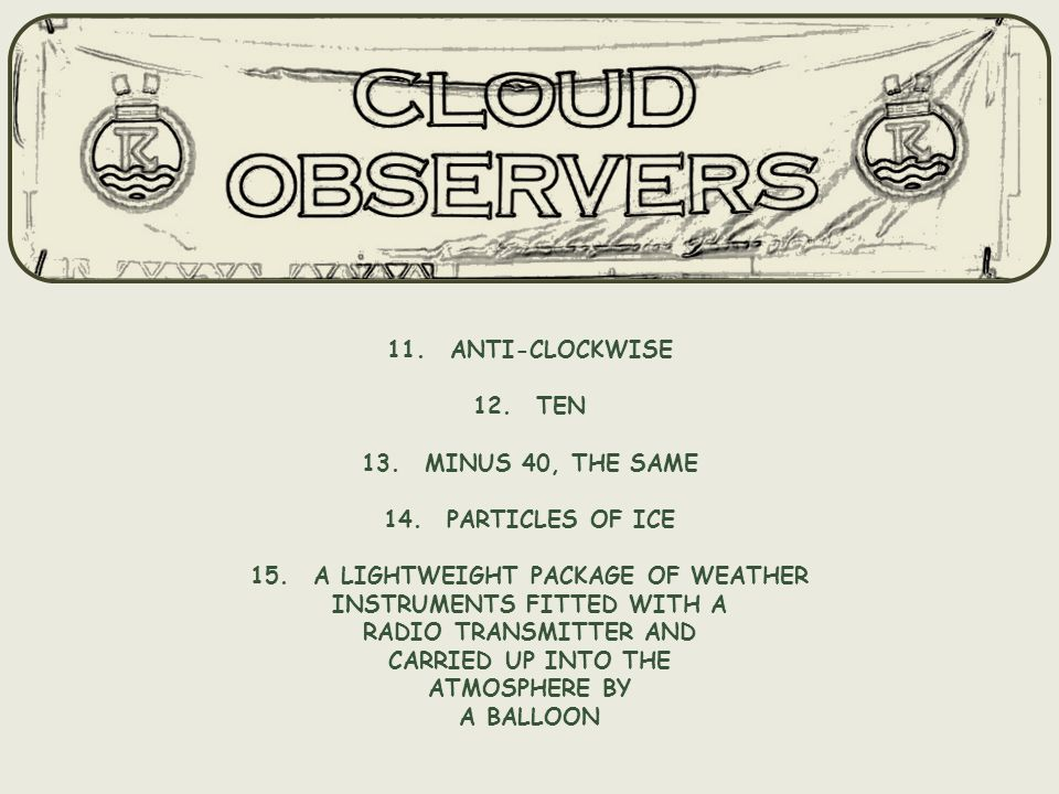 Compiled by MIS on behalf of Cloud Observers2010