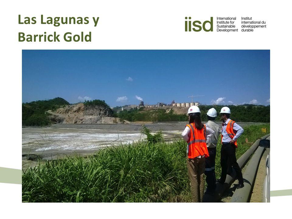 Las Lagunas y Barrick Gold