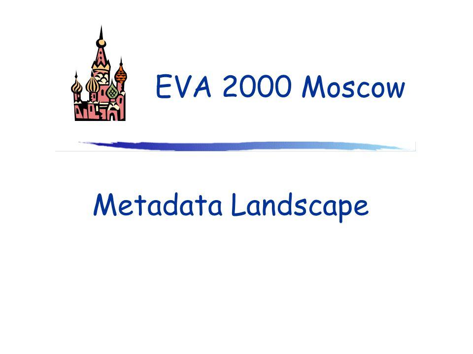 Metadata Landscape EVA 2000 Moscow