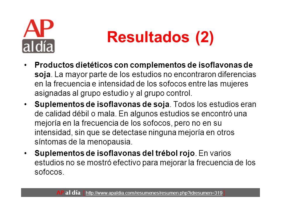 AP al día [ http://www.apaldia.com/resumenes/resumen.php?idresumen=319 ] Resultados (1)