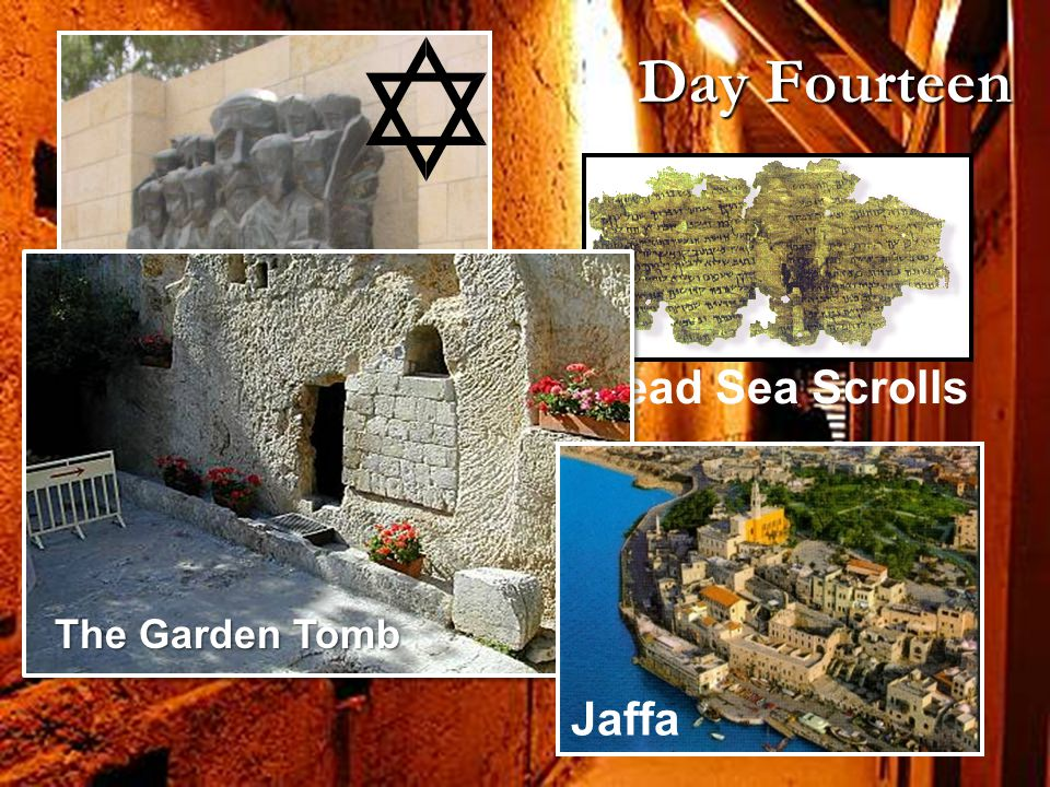 Yad Vashem Dead Sea Scrolls Day Fourteen Jaffa