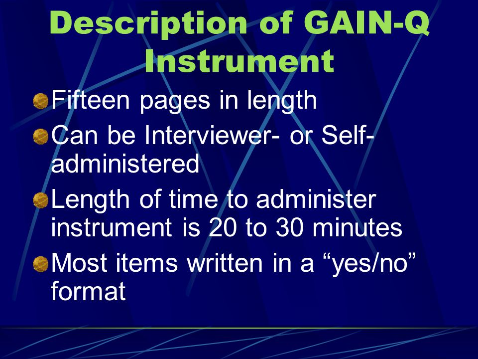 Taking a closer look at the GAIN-Q Distribute copy of GAIN-Q
