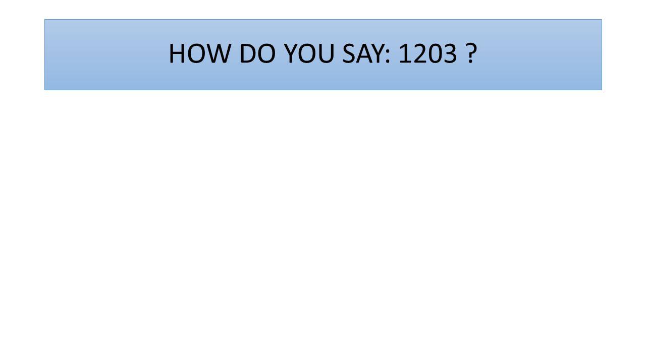 HOW DO YOU SAY: 1945 ?