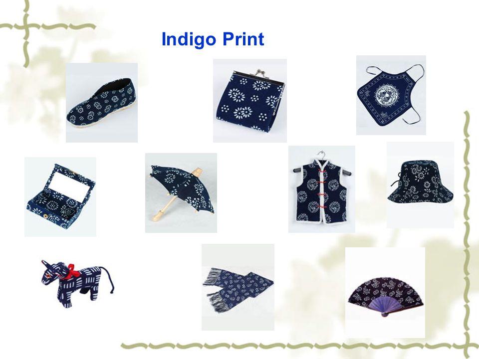 Indigo Print