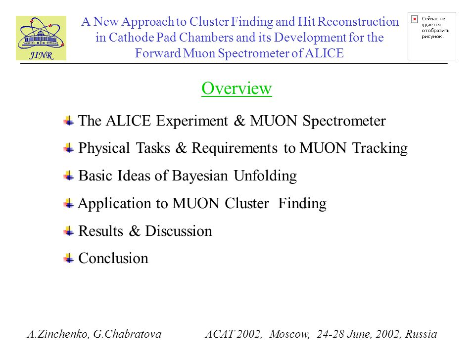 A New Approach to Cluster Finding and Hit Reconstruction in Cathode Pad Chambers and its Development for the Forward Muon Spectrometer of ALICE A.Zinc
