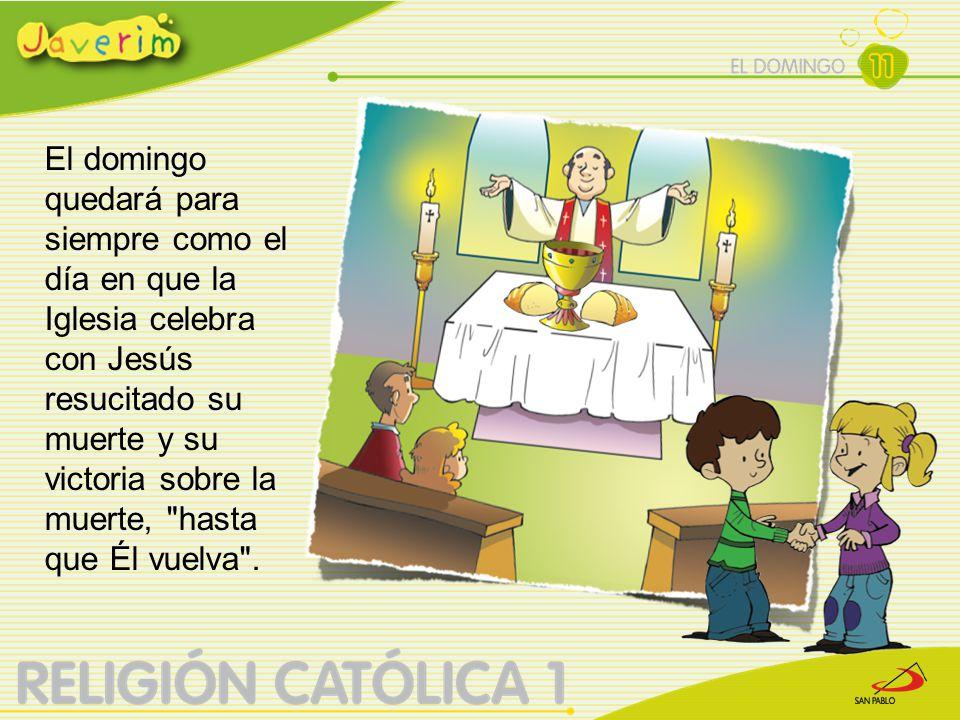 Se le llama el Día del Señor porque en este día el Señor volvió triunfante .