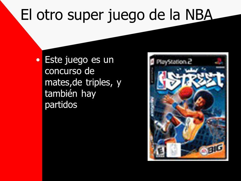 El juego de la NBA Este es el juego de la NBA más moderno