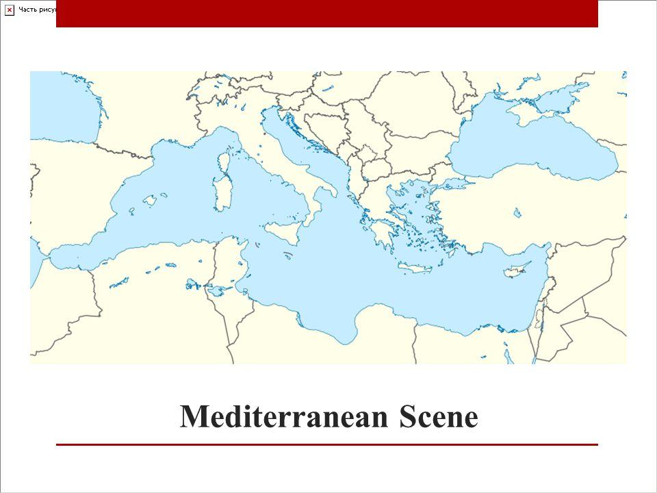 Mediterranean Scene