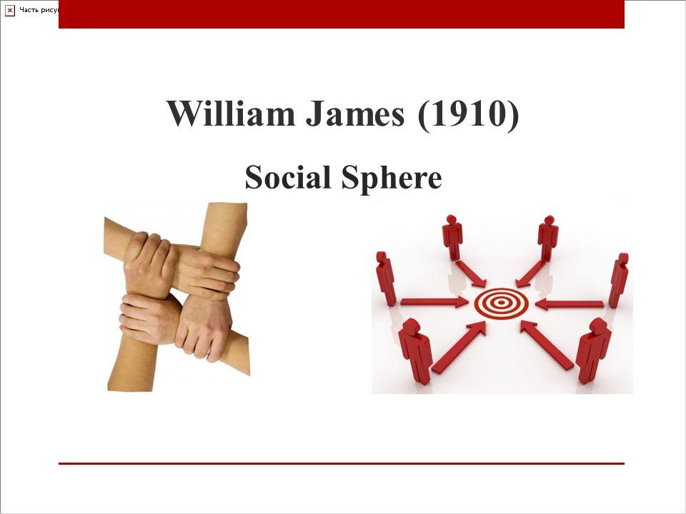 Social Sphere William James (1910)