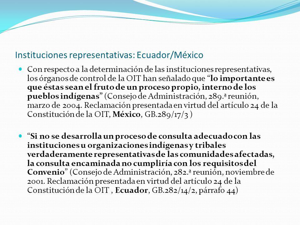 Buena fe, información, toma de decisión: México Es necesario que los gobiernos reconozcan los organismos de representación y procuren llegar a un acuerdo, lleven adelante negociaciones genuinas y constructivas, eviten demoras injustificadas, cumplan con los acuerdos pactados y los implementen de buena fe.