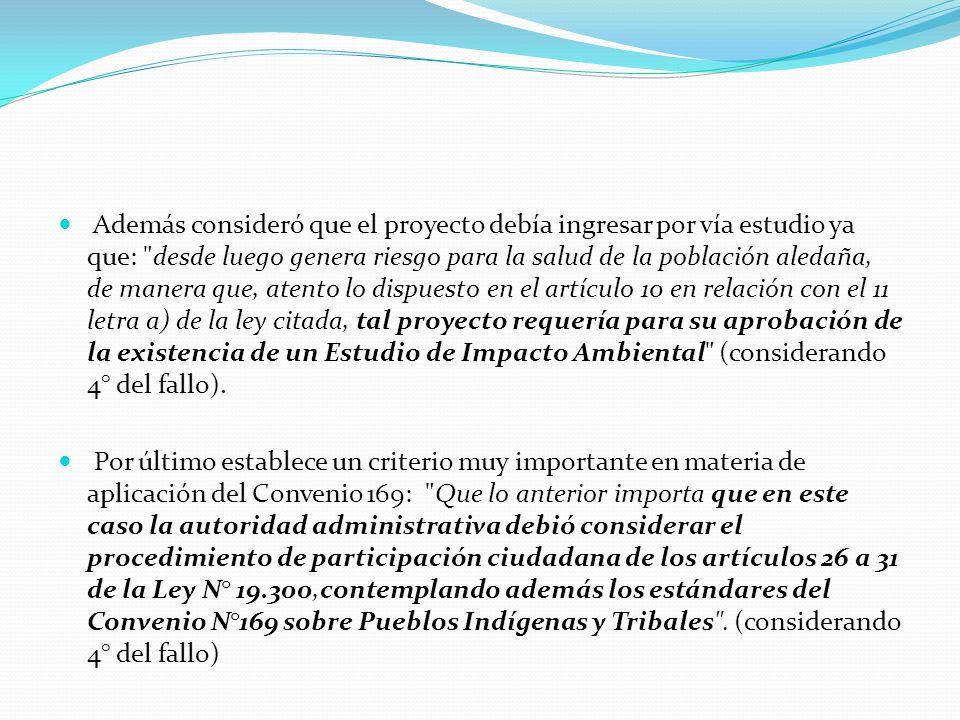 Consejo de Pueblos Atacameños c.COREMA Antofagasta (sept.