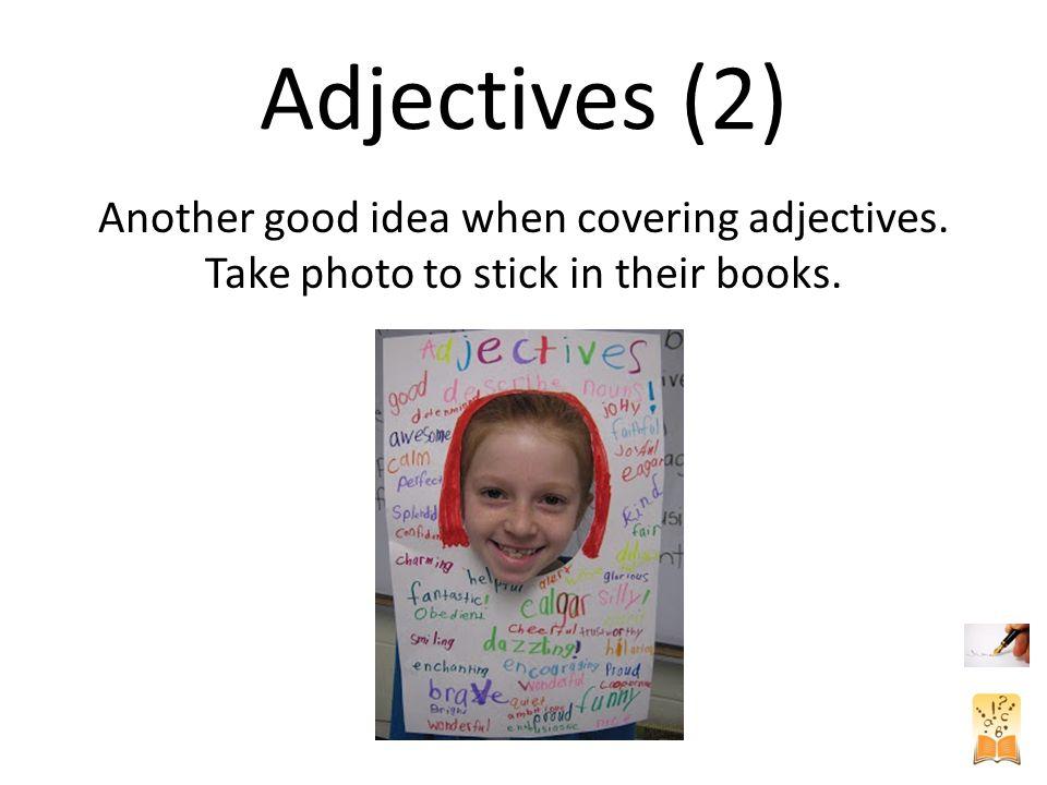 Creative Descriptions Fun way of presenting a piece of writing.