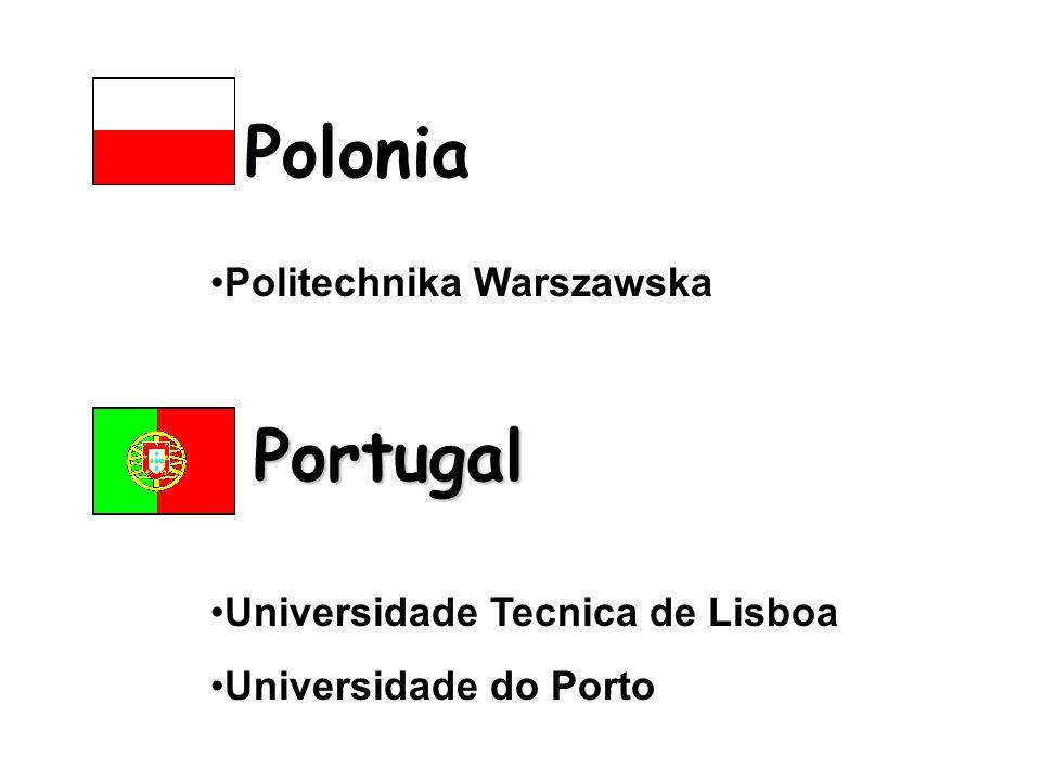 Politechnika Warszawska Polonia Portugal Universidade Tecnica de Lisboa Universidade do Porto