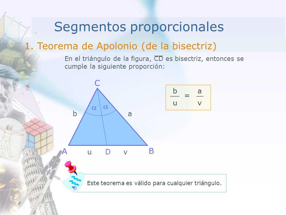 Segmentos proporcionales 1.