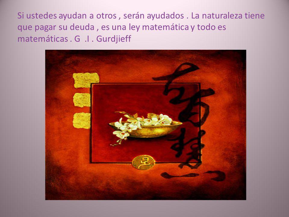 Un hombre debe darse cuenta que no puede hacer. Todas nuestras actividades son mecánicas, todo es por impulso externo. G. I. Gurdjieff