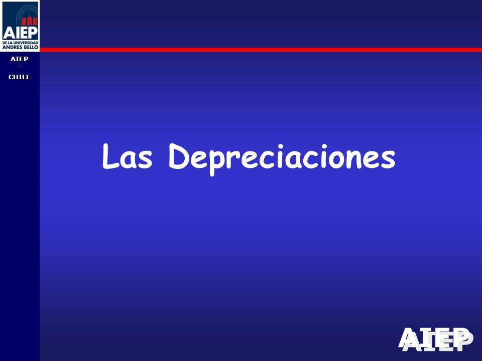 AIEP - CHILE Las Depreciaciones