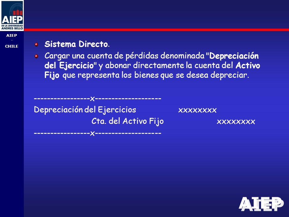 AIEP - CHILE Sistema Directo.