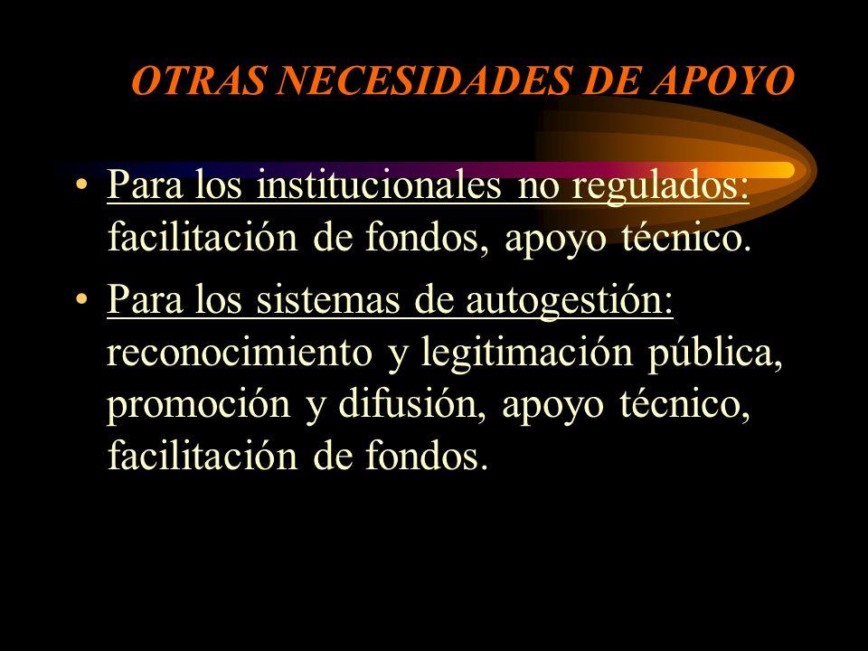 SOBRE REGULACIÓN Y CONTROL Para los regulados: regulación y control a cargo del estado.