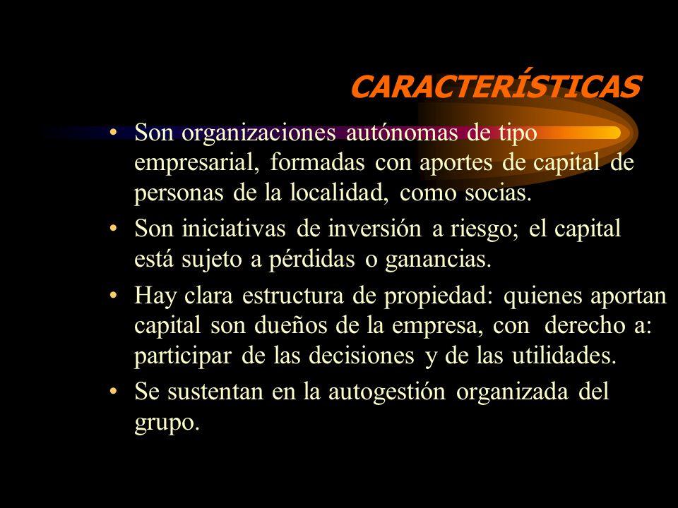 CONCEPTO Las SPI son: Microempresas locales dedicadas a la prestación de servicios autogestionados de ahorro y crédito