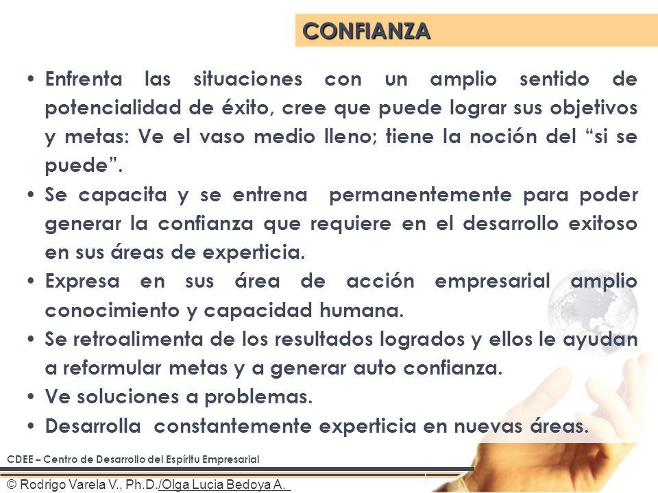 © Rodrigo Varela V., Ph.D./Olga Lucia Bedoya A.