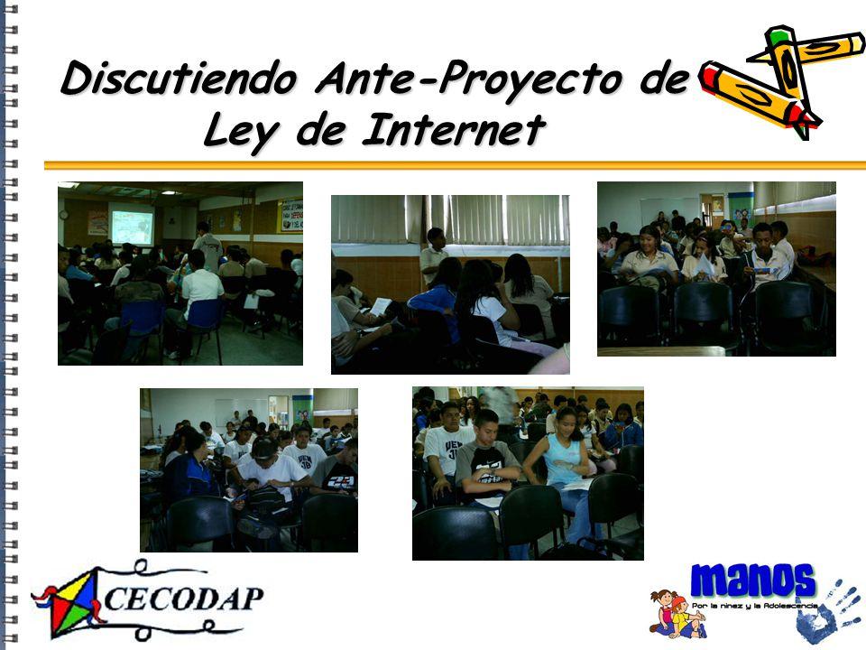 Discutiendo Ante-Proyecto de Ley de Internet