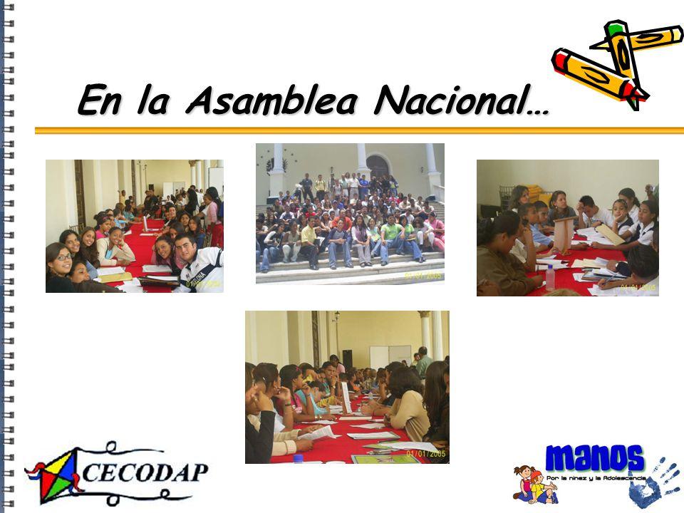 En la Asamblea Nacional…