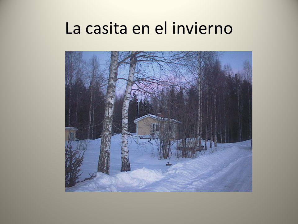 La casita en el invierno