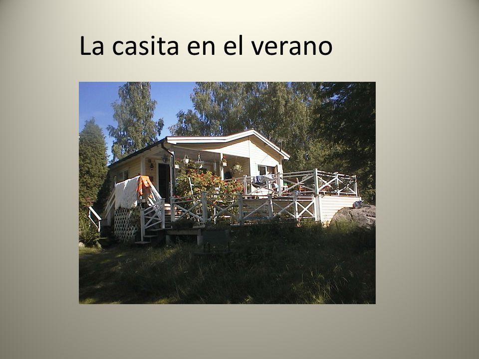 La casita en el verano