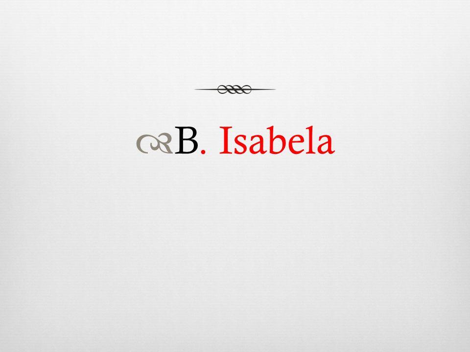  B. Isabela