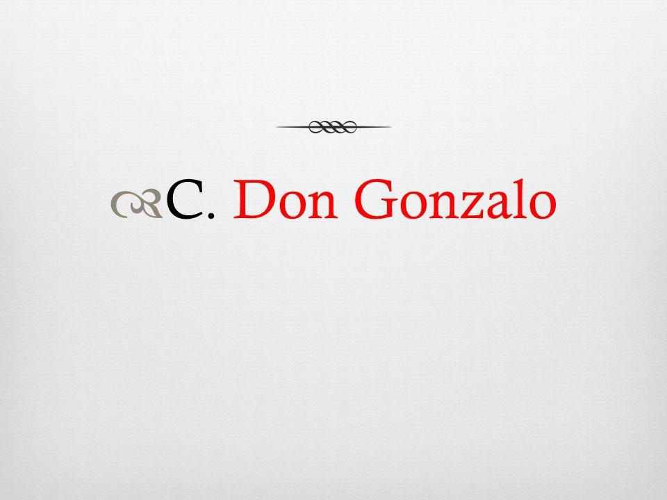  C. Don Gonzalo