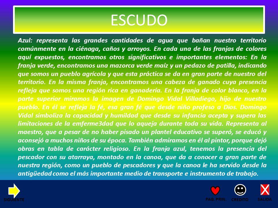 POBLACION ZONA SUR (CAROLINA, PIMENTAL Y PUNTA VERDE) SALIDA CREDITO PAG.