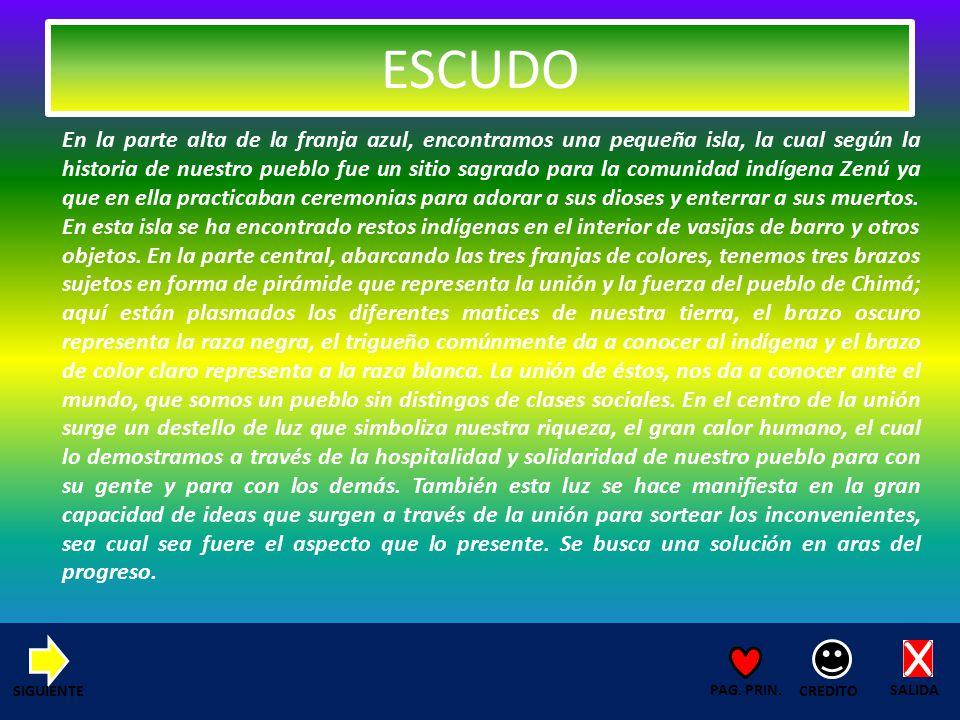 SALIDA CREDITO PAG. PRIN. ECONOMIA CULTURA AGRICULTURA COMERCIO MENÚ