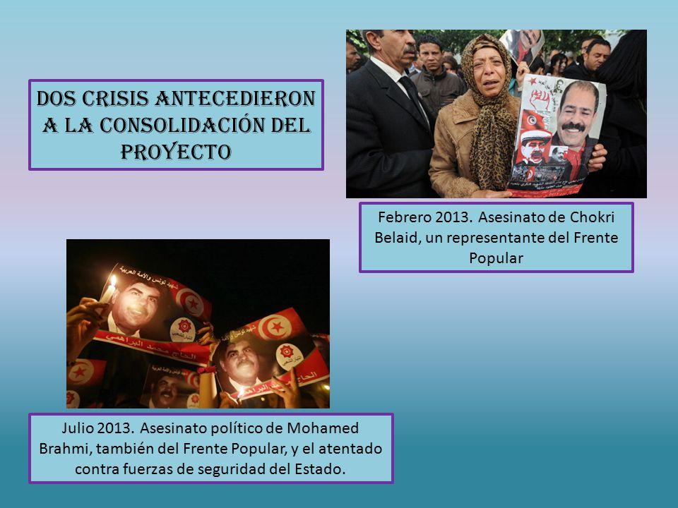 Dos crisis antecedieron a la consolidación del proyecto Febrero 2013.