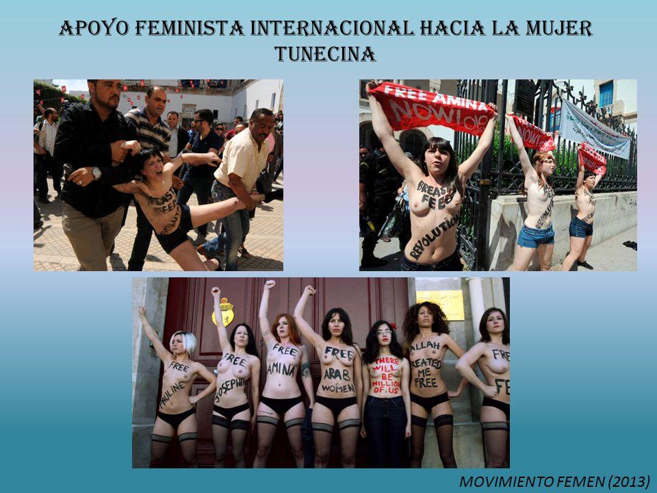APOYO FEMinista INTERNACIONAL HACIA LA MUJER TUNECINA MOVIMIENTO FEMEN (2013)