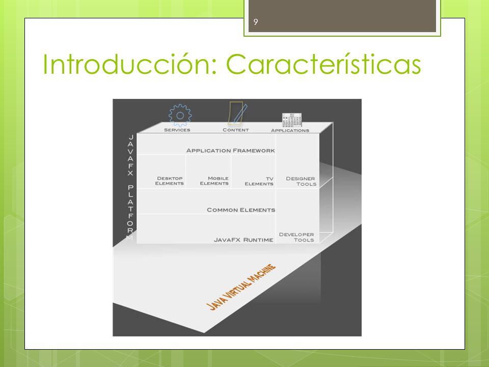 Introducción: Características 9