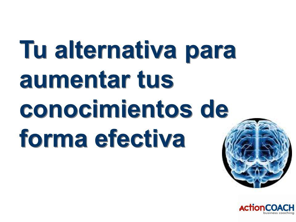 Tu alternativa para aumentar tus conocimientos de forma efectiva