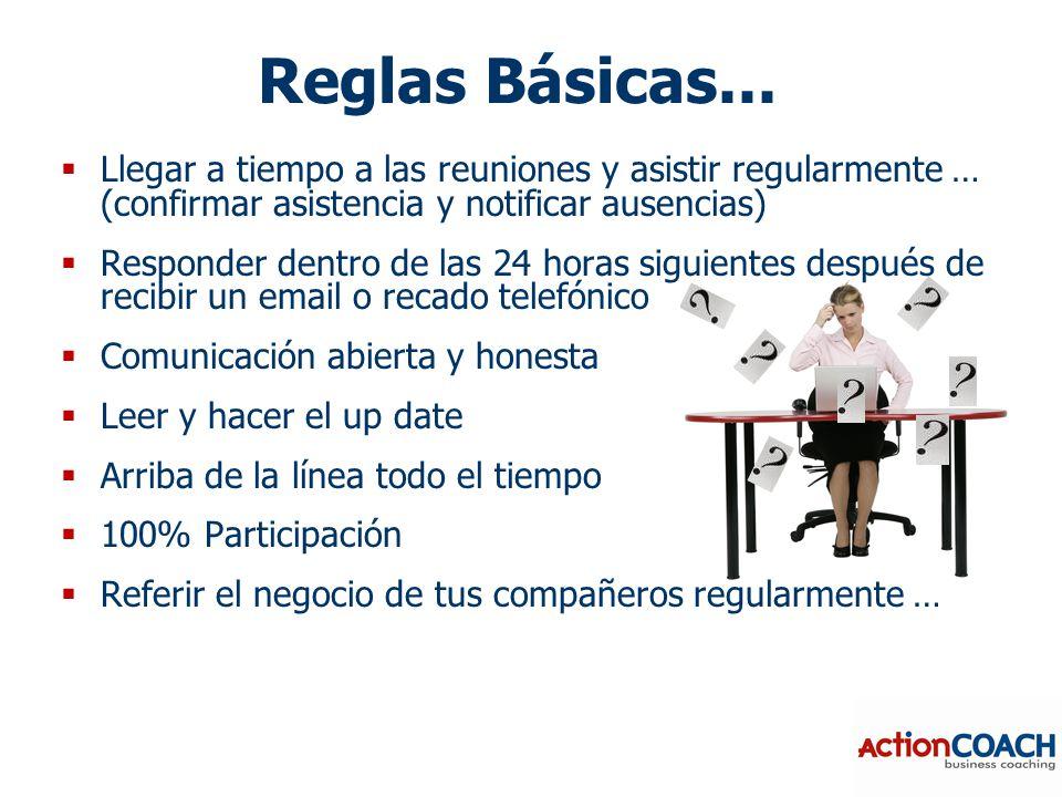 Reglas Básicas...