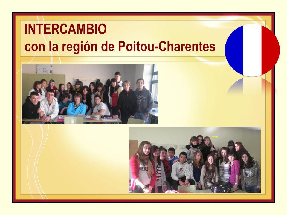 INTERCAMBIO con la región de Poitou-Charentes