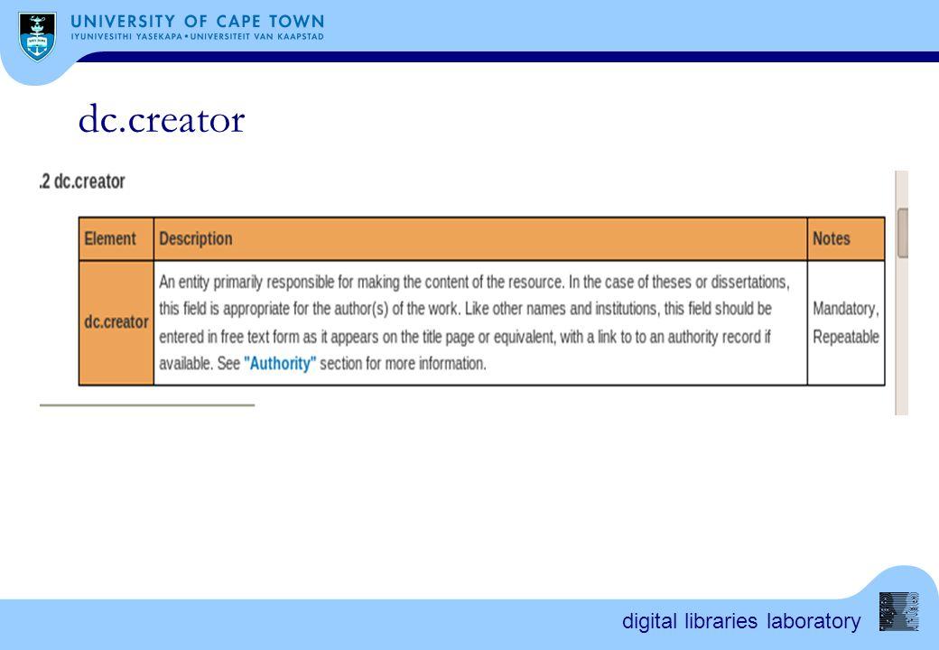digital libraries laboratory dc.rights