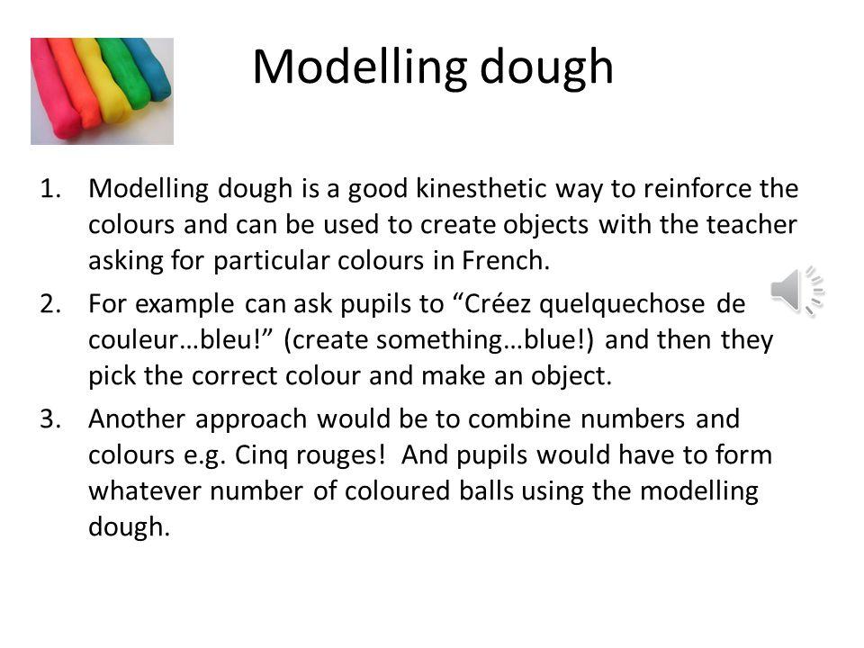 Activité 3 Modelling dough