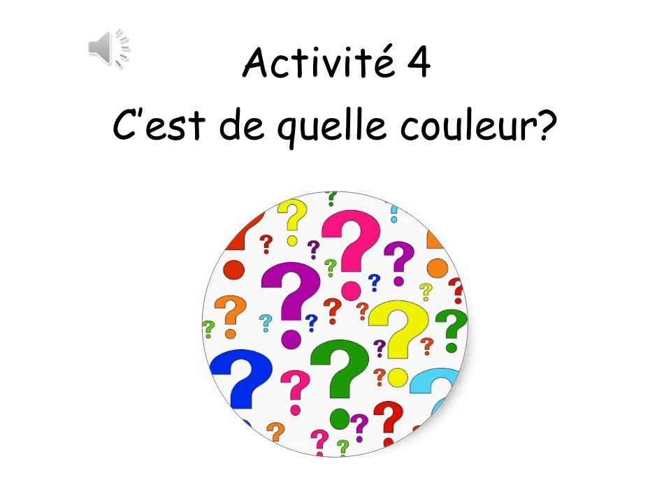 1.Modelling dough is a good kinesthetic way to reinforce the colours and can be used to create objects with the teacher asking for particular colours in French.