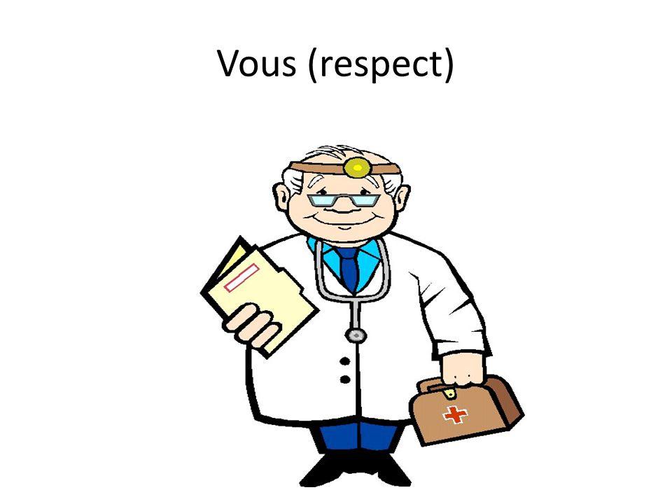 Vous (respect)