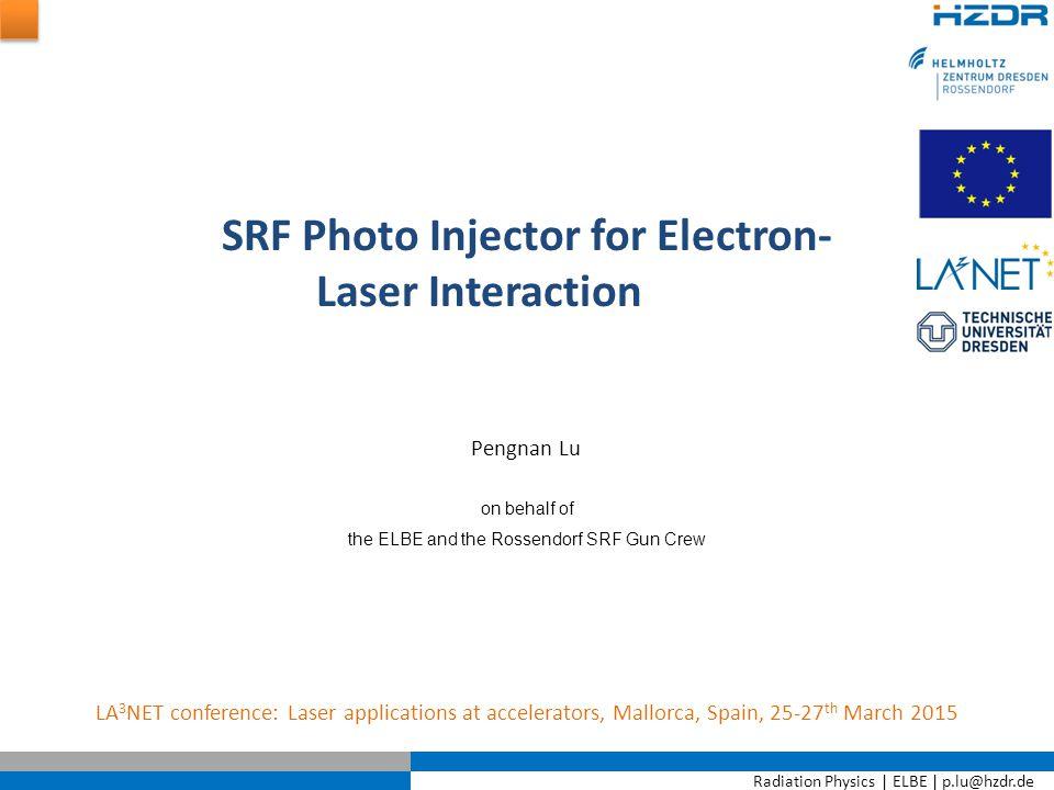 Radiation Physics   ELBE   p.lu@hzdr.de Page 12 Transport results — transport Motiv.