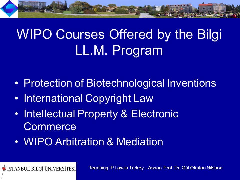 Teaching IP Law in Turkey – Assoc. Prof. Dr.