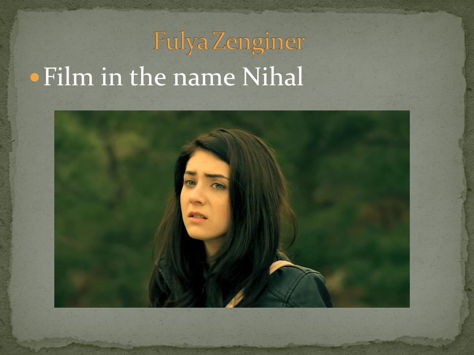Film in the name Nihal