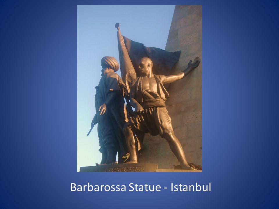 Barbarossa Statue - Istanbul