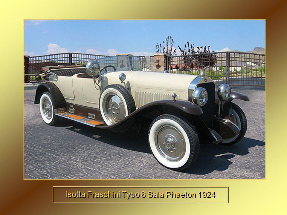 Isotta Fraschini Typo 8 Sala Phaeton 1924