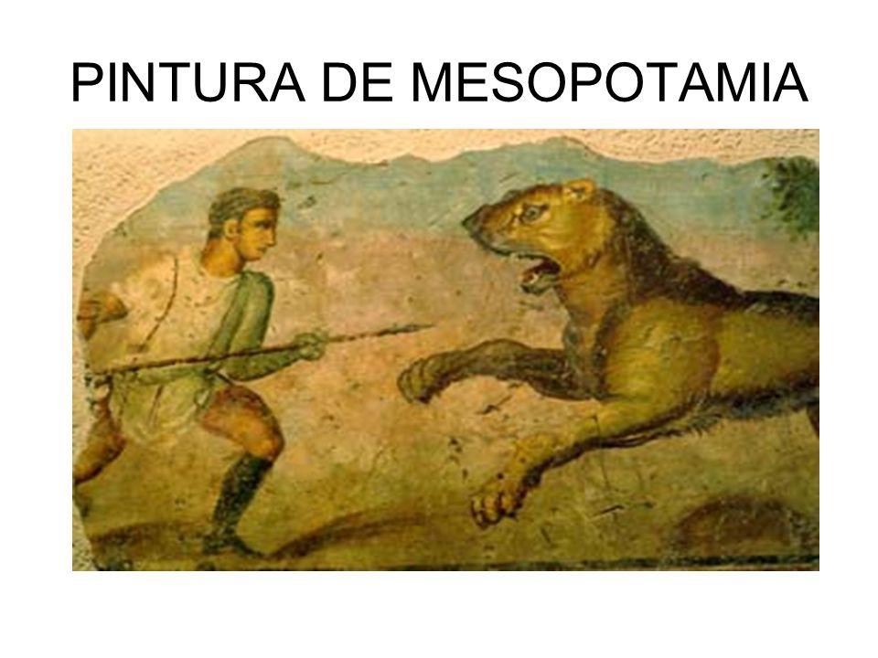 PINTURA DE MESOPOTAMIA