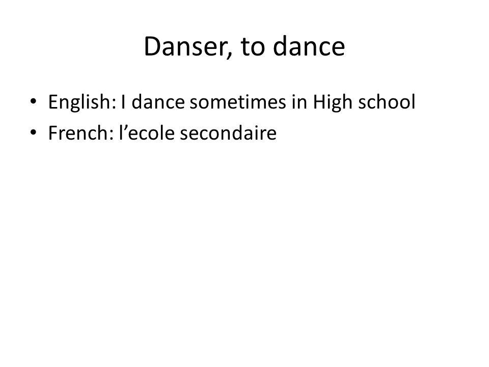 Demander, to ask English: I asked someone what todays date French: je demander quelqu'un Quelle est la date aujourd'hui