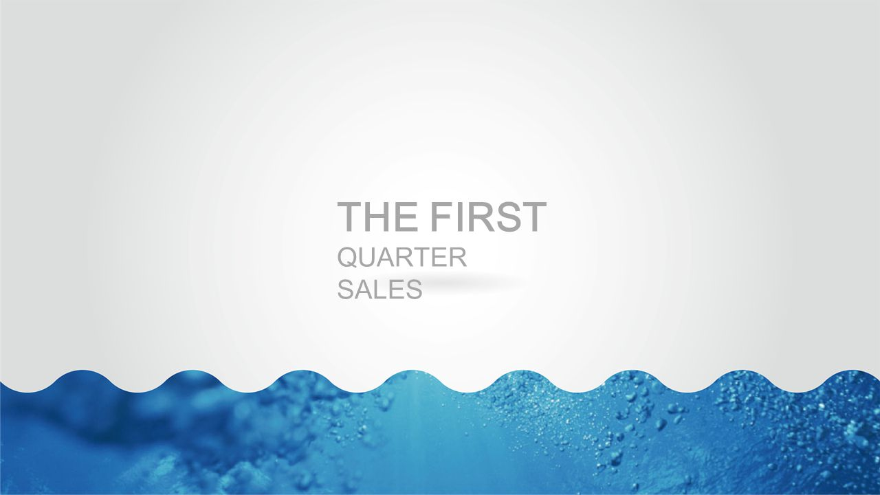 DIRECTORY The first quarter sales The second quarter sales The third quarter sales The first quarter sales The second quarter sales The third quarter sales The first quarter sales